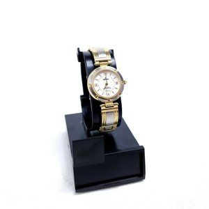 Croton Ladies C12709W 3ATM 23K Gold Plated Watch
